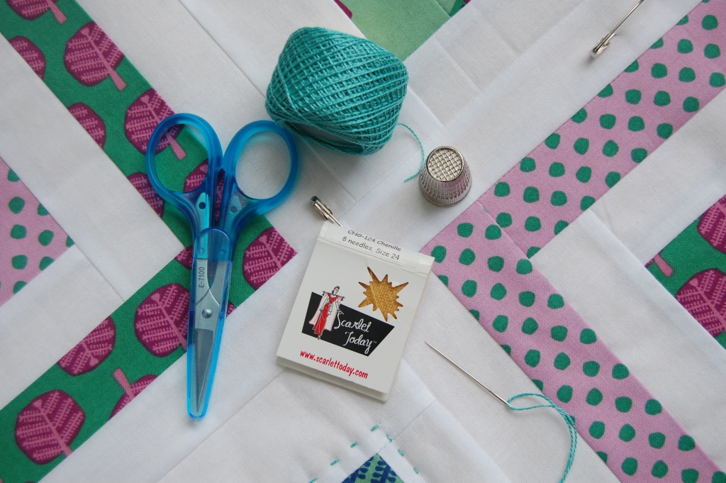 Kate Conklin Designs: Hand quilting tutorial : best needles for hand quilting - Adamdwight.com