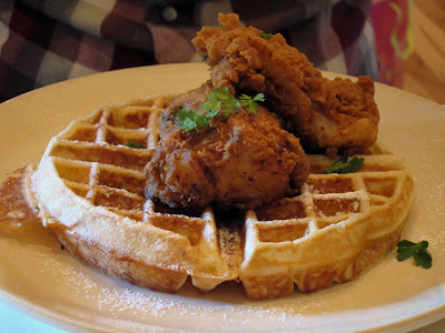 Near north chicago staycation guide chicken and waffles for Table 52 chicago restaurant