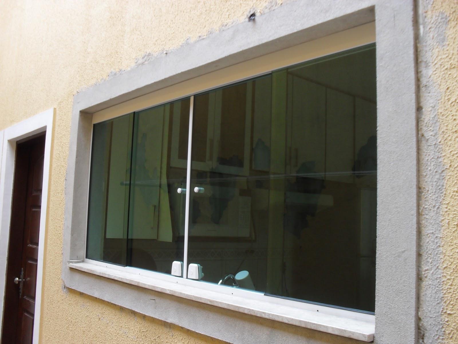 #856D46 Jato Glass Vidraçaria: Janela 4 folhas em vidro temperado (cozinha) 444 Janelas De Vidros Temperados Preços