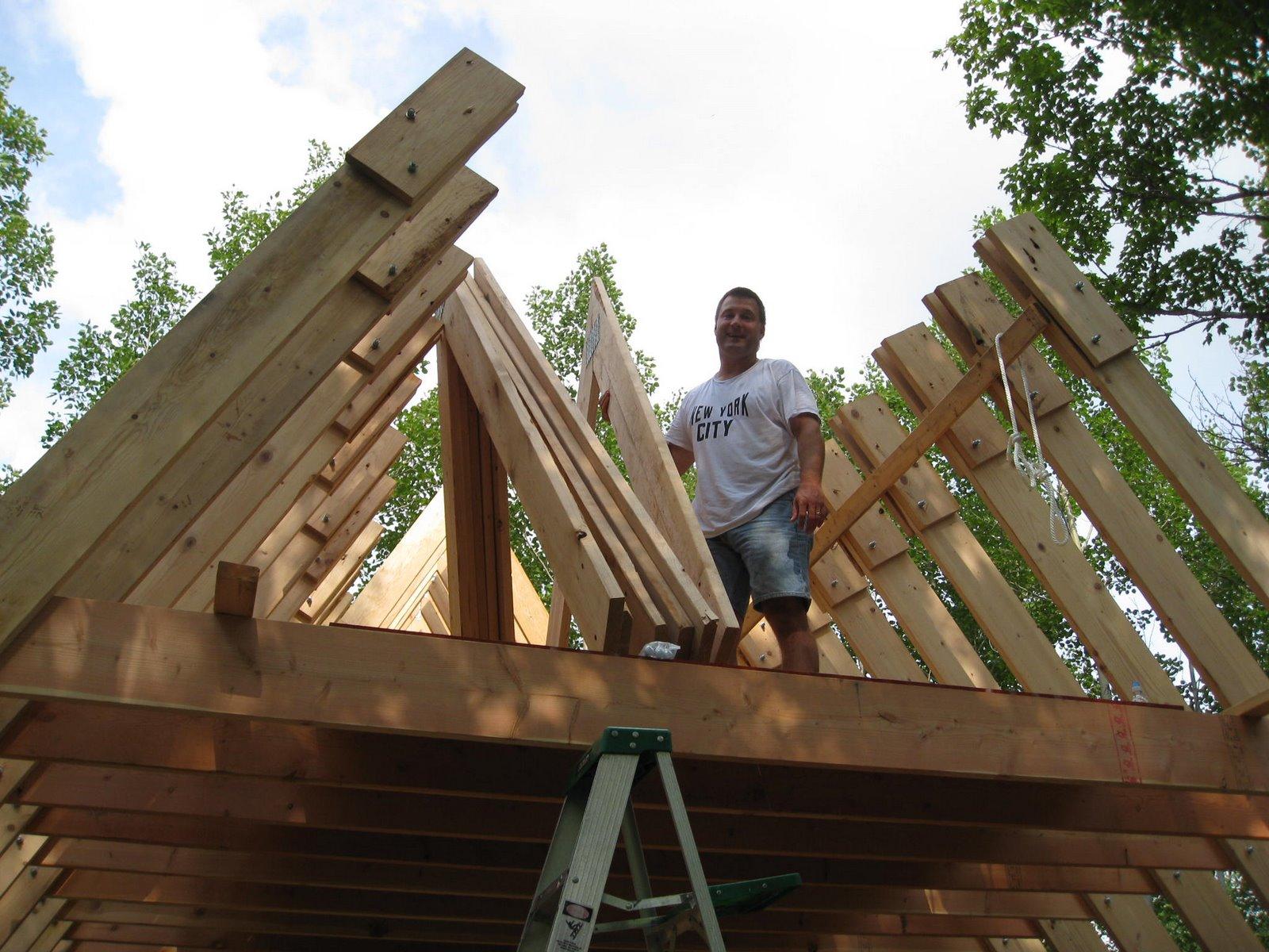 Building An A Frame House : Need advice on building an a frame house