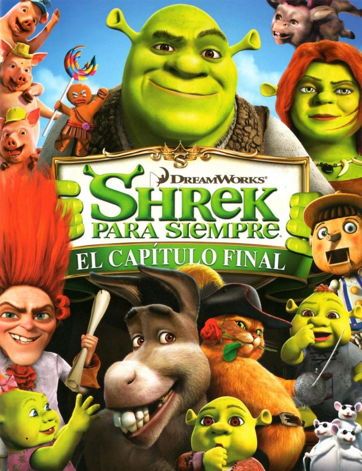 Peliculas Infantiles: SHREK PARA SIEMPRE EL CAP. FINAL ...
