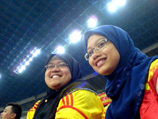 Dida and I at Shah Alam Stadium