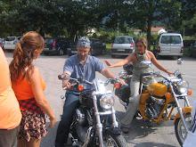 CARLOS FUE ORGANIZACIÓN DE LA CONCENTRACIÓN DE MOTO DE SORDOS EN VALLADOLID (2010)