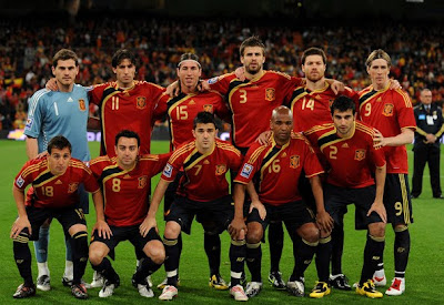 2010 Spanish team