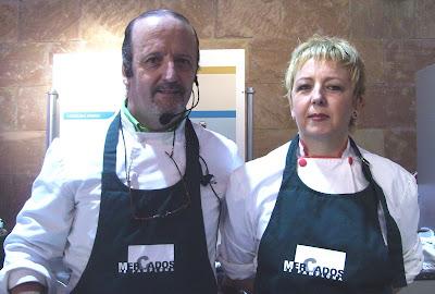 Alicia y Jesús María, cocineros creativos del Gaucho
