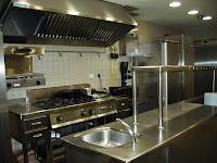 Cocinas donde se elaboraron algunos de los platos