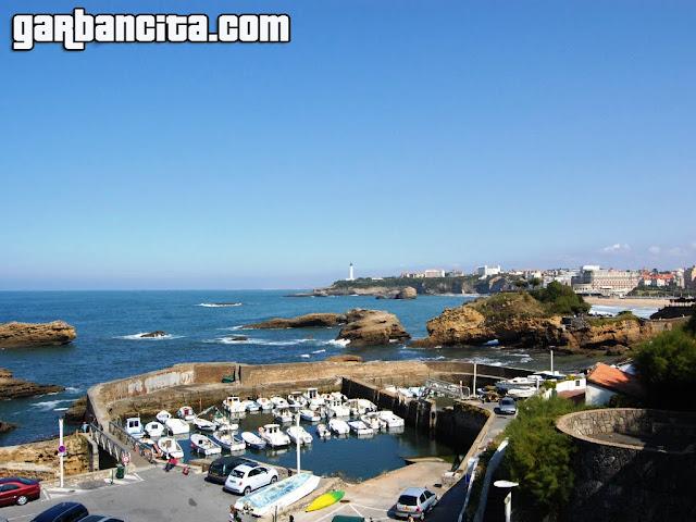 Paseo marítimo de Biarritz - Puerto