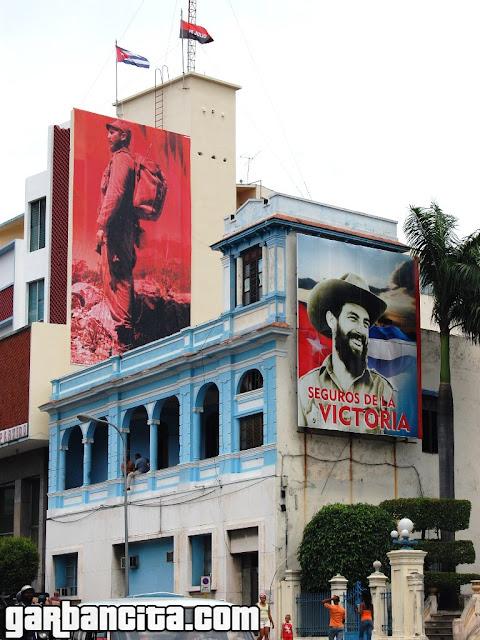 Propaganda en Santiago de Cuba