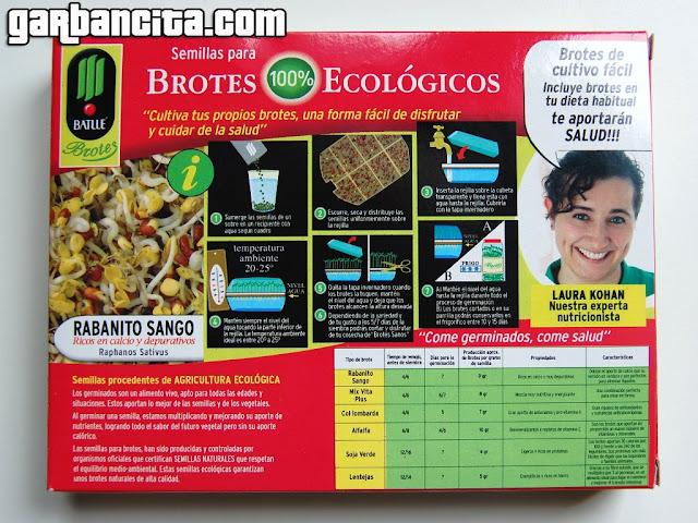 Brotes y germinados ecológicos Batlle