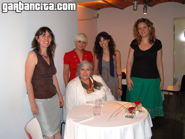 Lila, Garbancita, Raquel, Mar y Margot