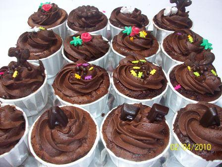 Cara Buat Cupcake Coklat Mudah