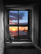 Por mi ventana de al ver verás, brilla un rayo al amanecer,