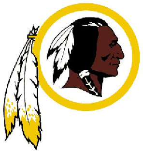 "The ""Washington Reskins"" logo"