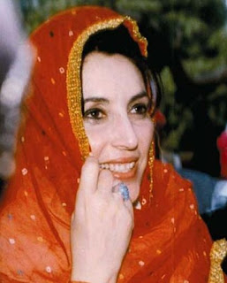 Benazir Bhutto in happier times
