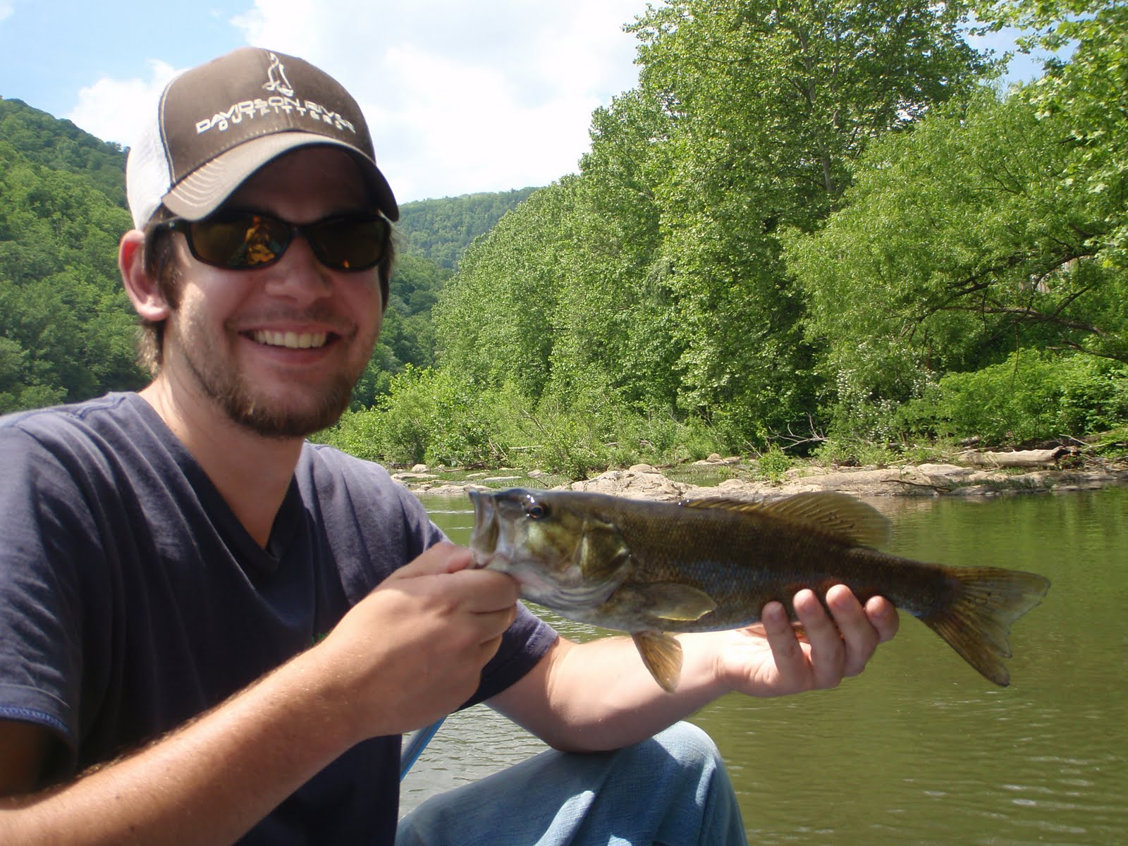 Brown trout fly fishing nolichucky smallmouth bass fishing for Smallmouth bass fly fishing