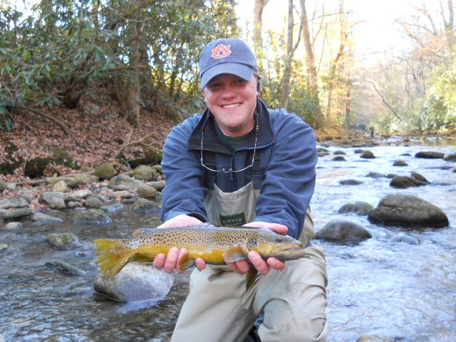 Brown trout fly fishing for Davidson river fly fishing
