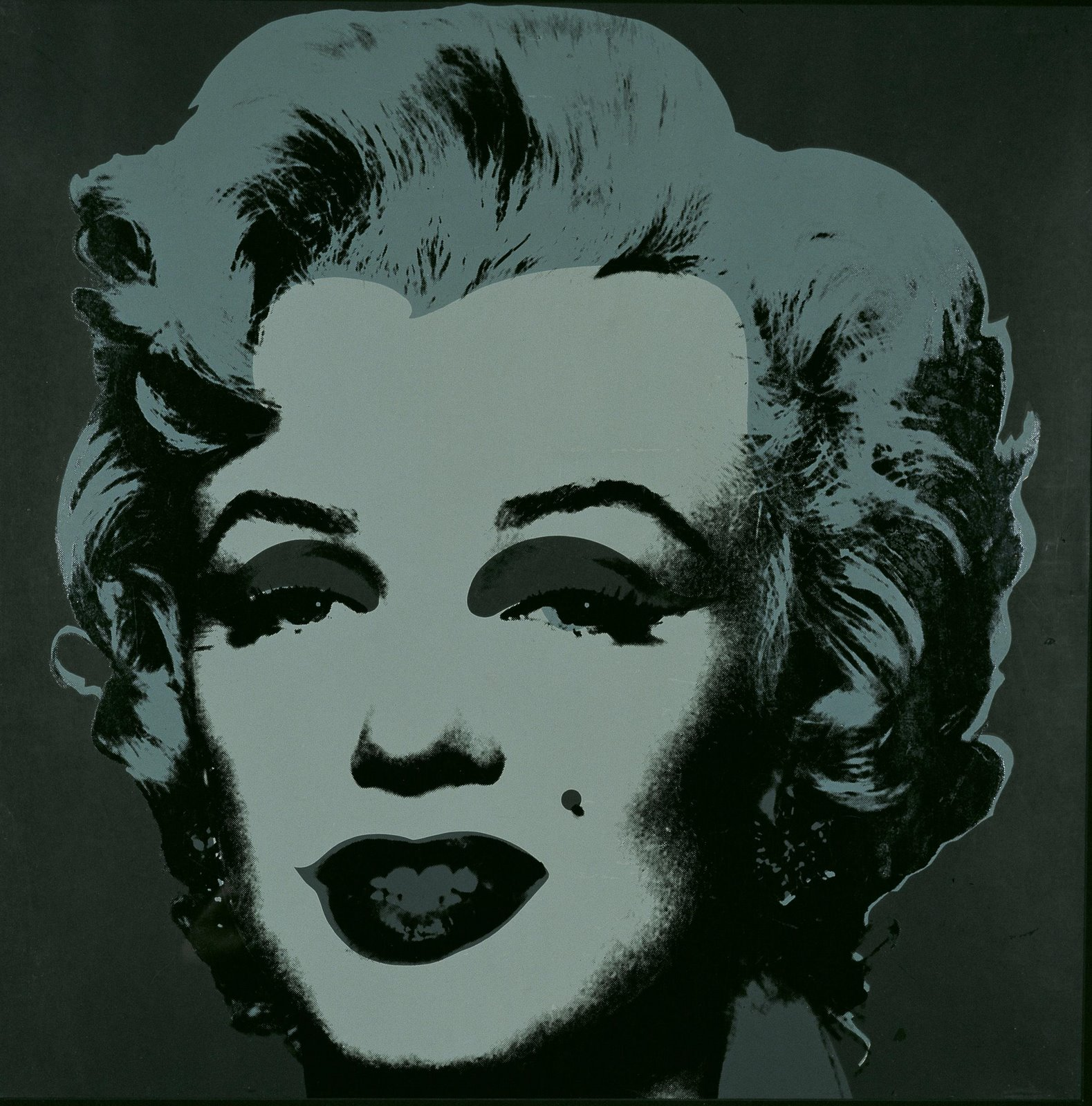free poster review the pop art of andy warhol. Black Bedroom Furniture Sets. Home Design Ideas