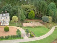 Cockington Green tennis courts