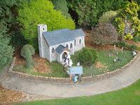 Cockington Green church wedding