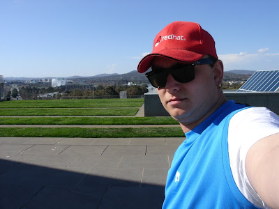 ric_man on top of parliament house