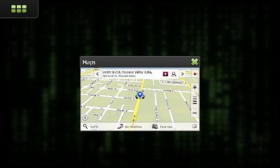 Broken Ovi Maps search of Melbourne