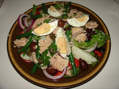 Homemade Tuna Niçoise Salad
