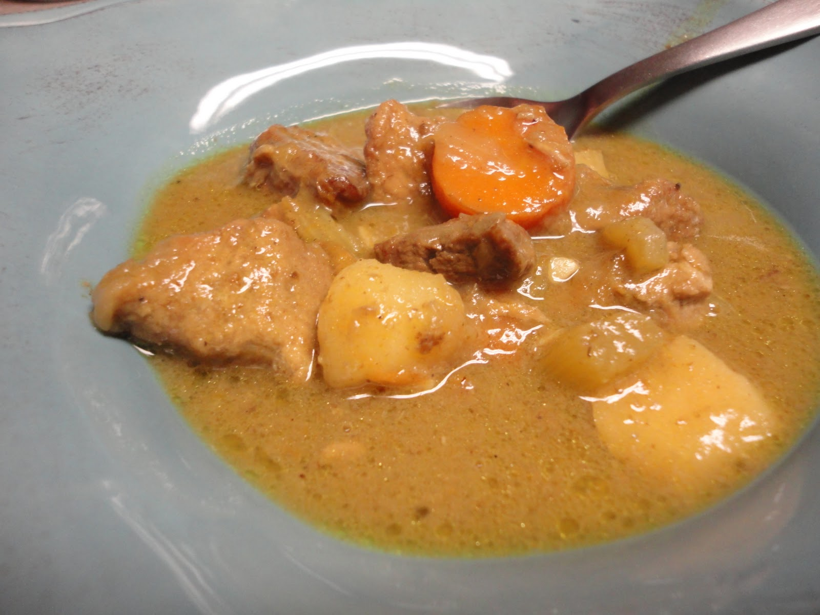 The Frickin Chicken: Coconut Curry Beef and Pork Stew