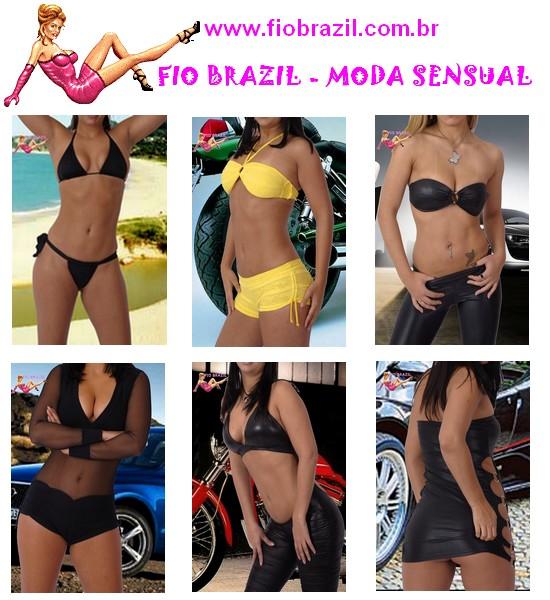 FIO BRAZIL - MODA SENSUAL - SÃO PAULO/SP - BRASIL
