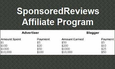 Sponsored Reviews Affiliate Program