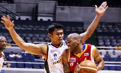 Norman Gonzalez stares down at the import.
