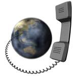 Ülkeler arası şehir telefon alan kodları, Dünya, Telefon, Uluslararası iletişim