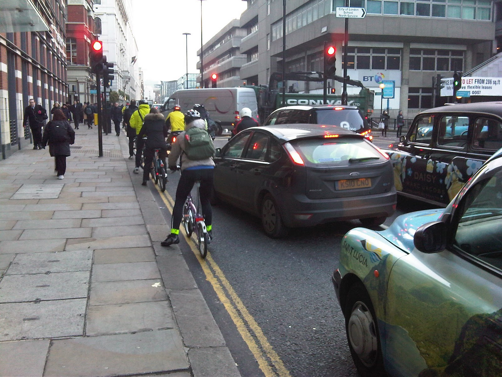 Cyclists in the City: November 2010