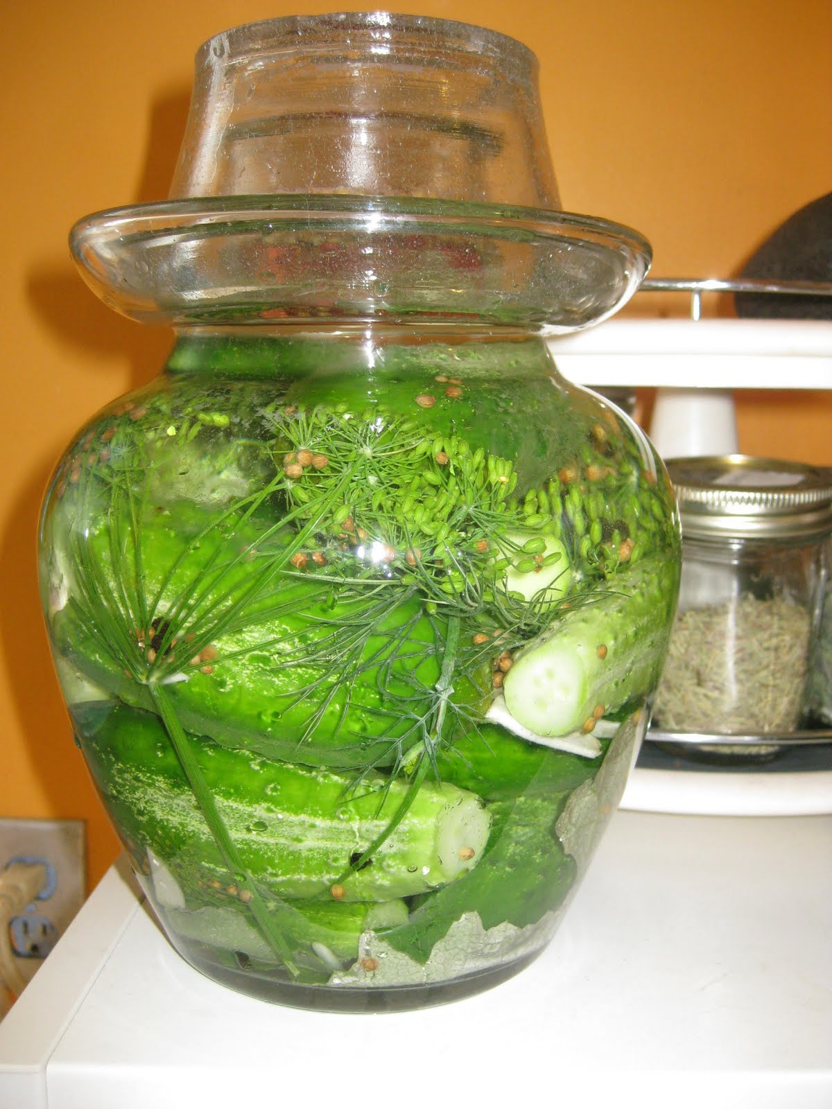 Asian pickling jar