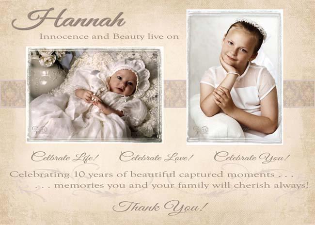 Celebrating Hannah!