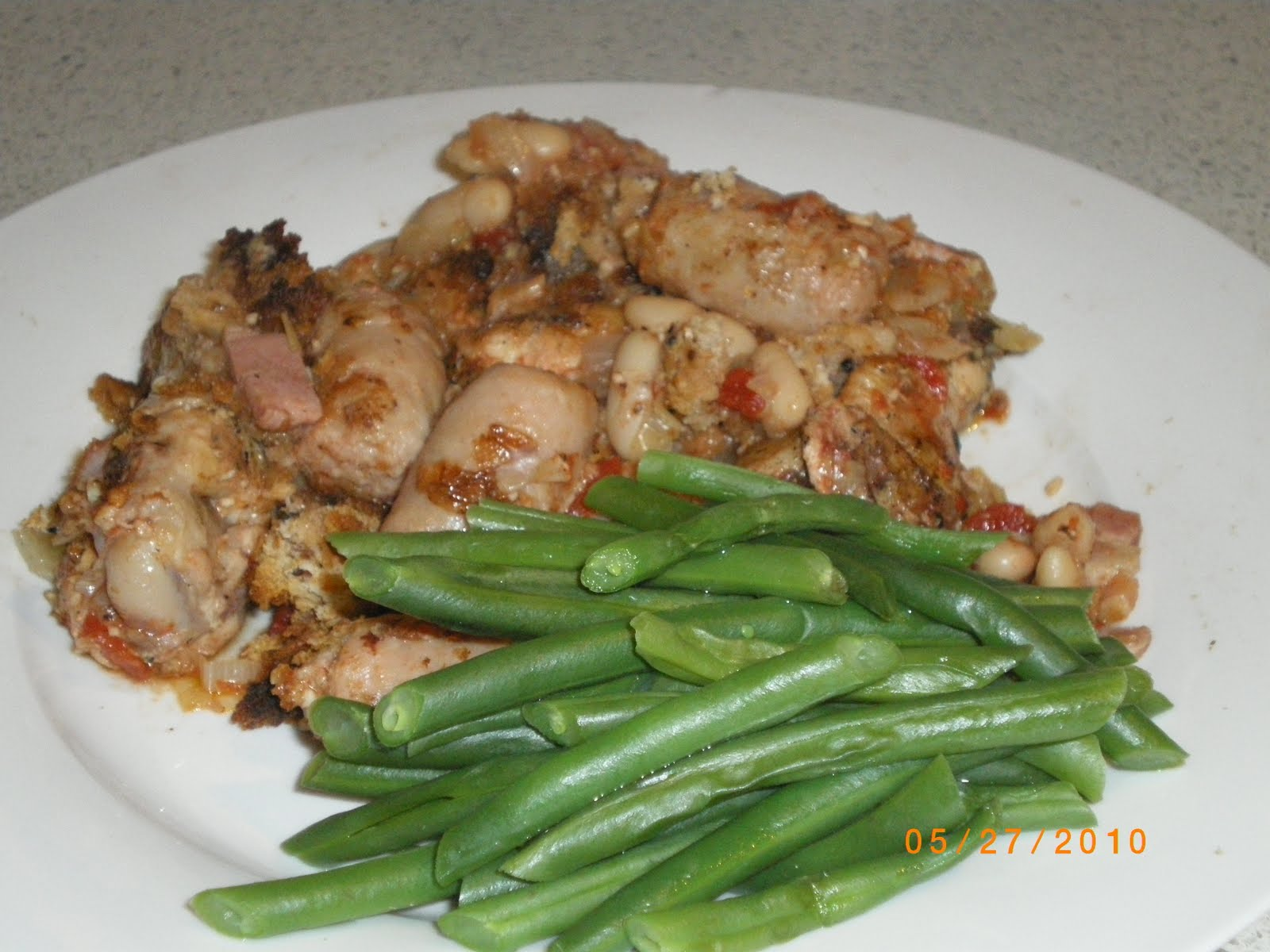 Cate Can Cook, So Can You!!: Chicken and Pork Cassoulet