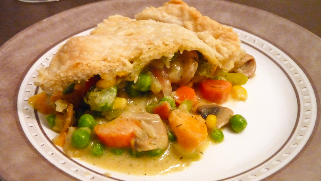Libra Loves: Vegetable Pot Pie with Dill-Mustard Sauce