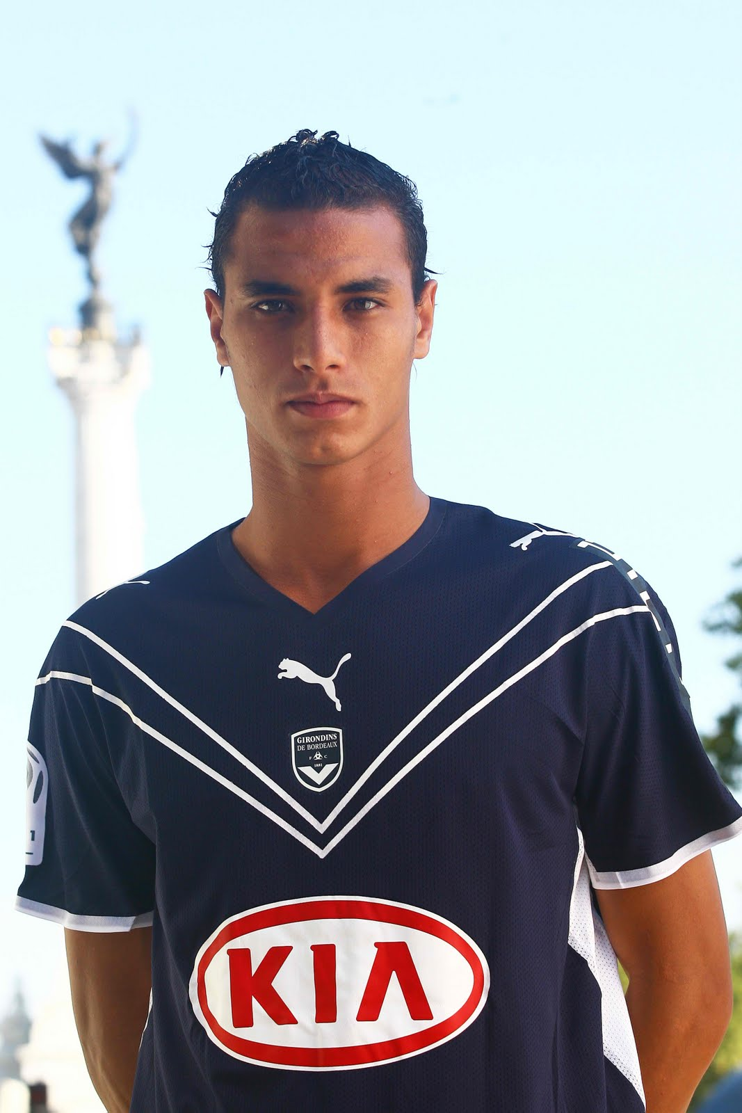The Best Footballers: Marouane Chamakh the soccer player ...