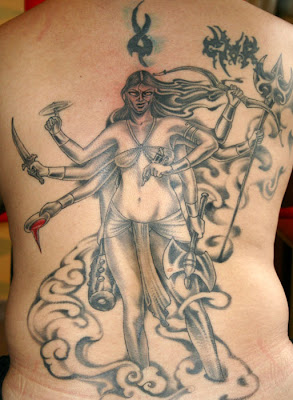 Kali Tattoo, By Pierre Bong A Jan; Photo Courtesy The Artist