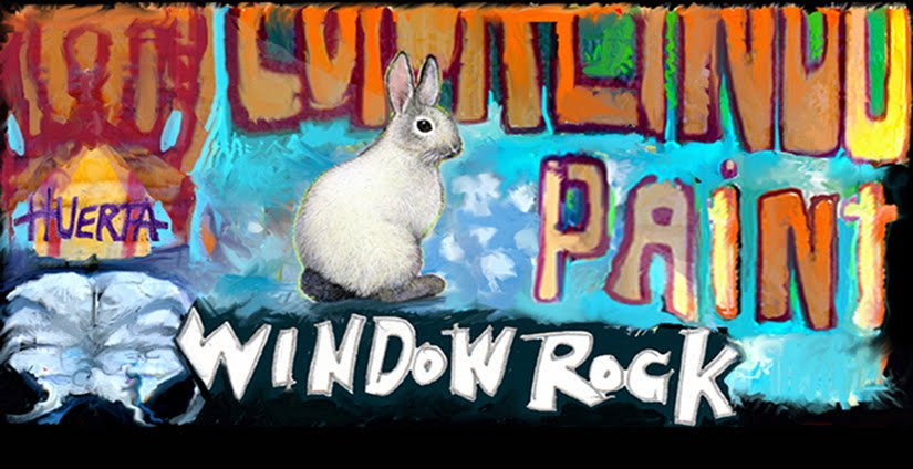 window rock paint