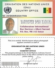 The Lawyer,s Identity Card