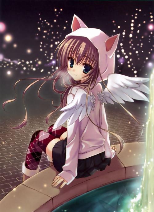 anime de angeles y amor