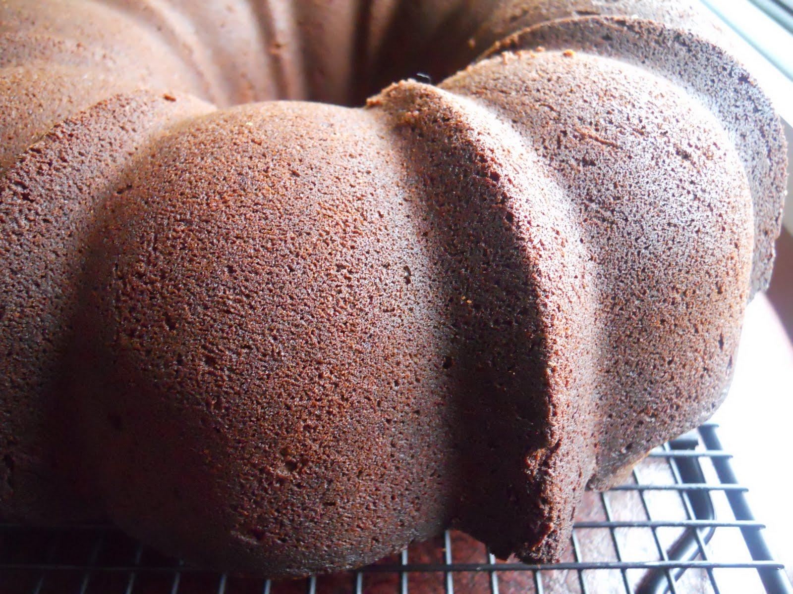Paula Deen Chocolate Bundt Cake