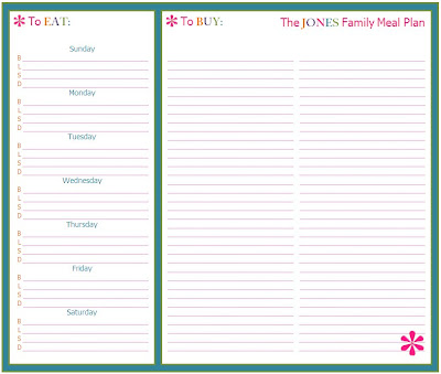 Party Planning List Template