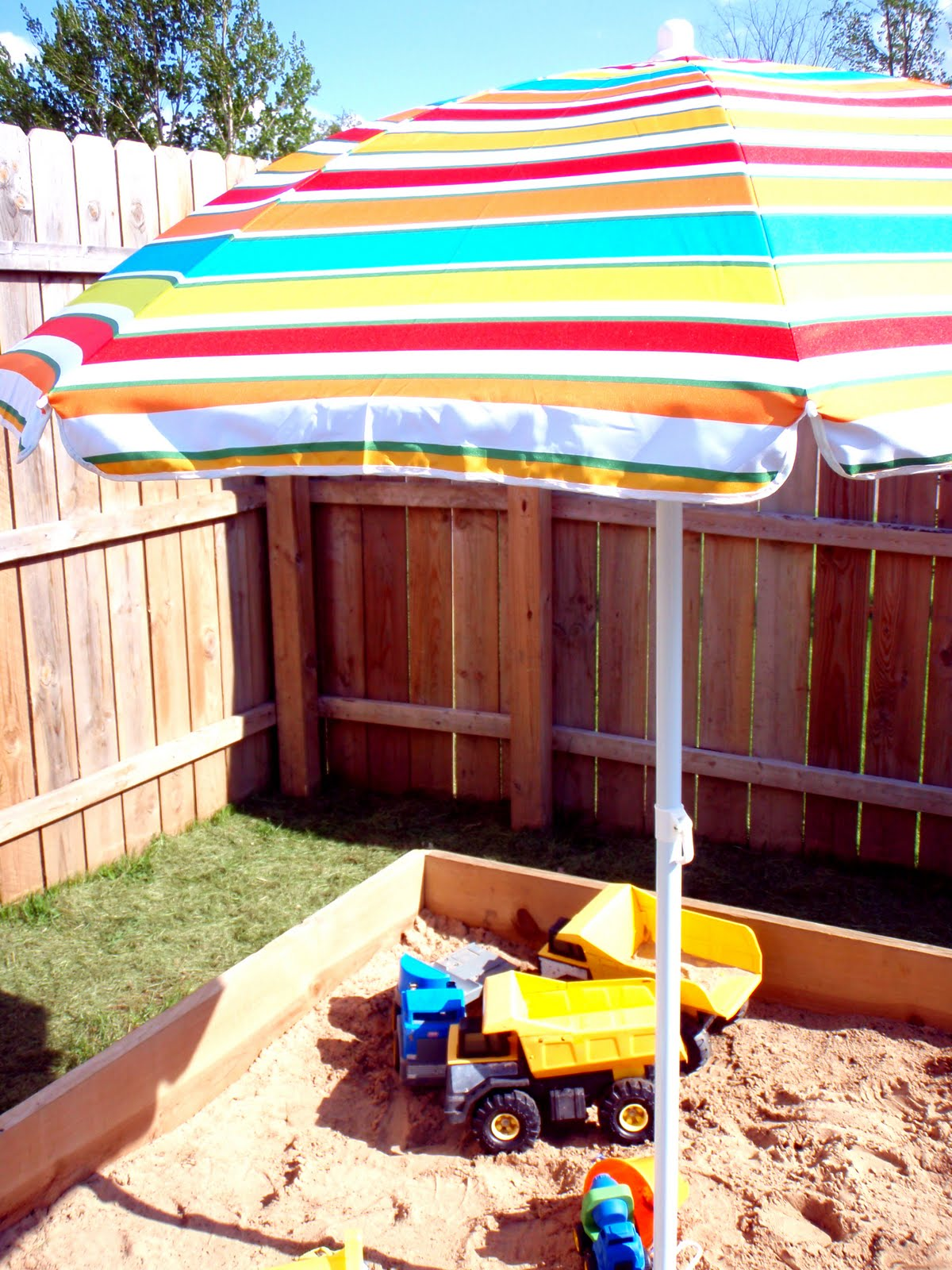 iheart organizing may featured space outdoors sandbox shade