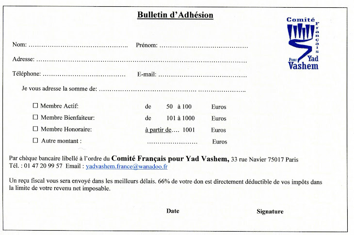 Bulletin d&#39;adhsion