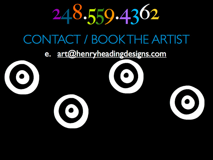 Detroit Art Galleries Rave Over Heading Designs - Contact The Artist Direct Today