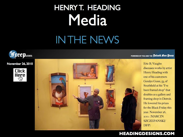 Freep.com - Article Features Art By Michigan Native & Fine Artist Henry T. Heading