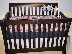 Lil Mop Top Cheater Crib Skirt