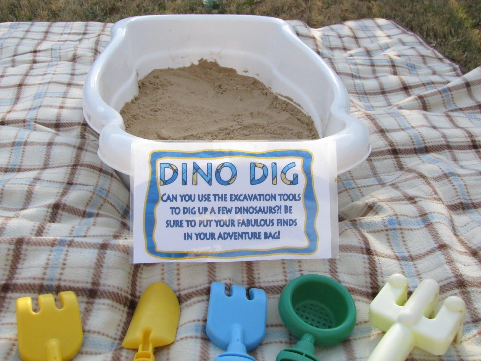 lil Mop Top Dinosaur Birthday Party