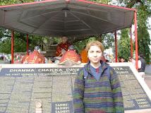 in Rasgir, locul unde Buddha a predat primele invataturi, India